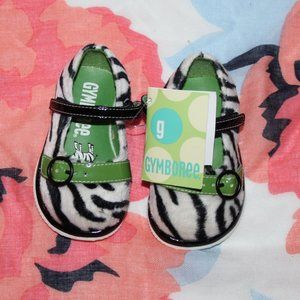NWT Gymboree  Zebra Mary Jane Baby
